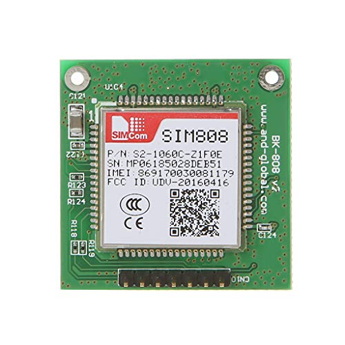 watersapprty SIM808 Breakout Board Bluetooth ماژول یکپارچه هسته برای GPS GSM GPRS