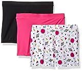 Playground Pals Big Girls' 3pk Bonus Pg Pals, Multi Icons/Pizazz Pink/Black, L