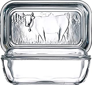 Arc International Luminarc Cow Butter Dish, 6-1/2-Inch by 2-3/4-Inch (B0007VGS1C) | Amazon price tracker / tracking, Amazon price history charts, Amazon price watches, Amazon price drop alerts