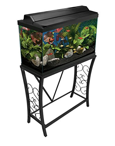 - Aquatic Fundamentals AMZ-102291 Aquarium Stand, 29 Gallon, Black