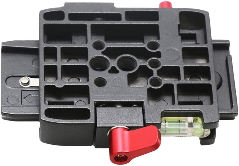 Color : Black Black Quick Release Plate P200 Compatible for Manfrotto 501 500AH 701HDV 503HDV Q5 LAILINSHENG Camera monopods Quick Release Clamp Adapter