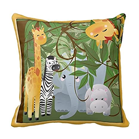 Amazon.com: Jungle Safari Animales habitación de los niños ...