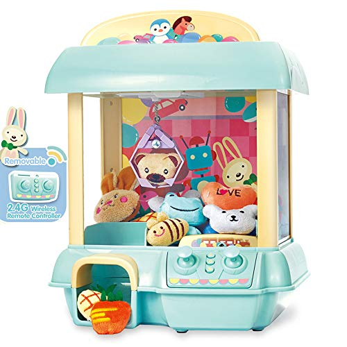 - GMAXT Claw Machine,C1 Claw Toy,2.4G Remote Control Automatic or Manual Dual Mode Mini Claw Machine, Intelligent System with Music and Lighting, Giving Children The Best Gift