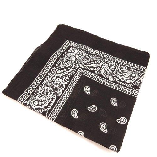 Les Trésors De Lily [K7236] - 3 bandanas noirs