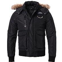 Men's Jacket Detachable Fur Collar Jacket Winter