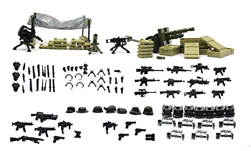 Serie del Guerra moderna - Mini figuras de Lego personalizadas ...