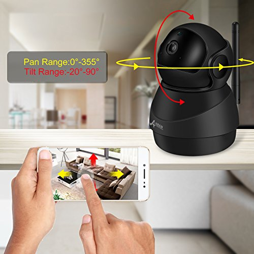 Wireless 1080P IP Camera, ANRAN WiFi Home Security