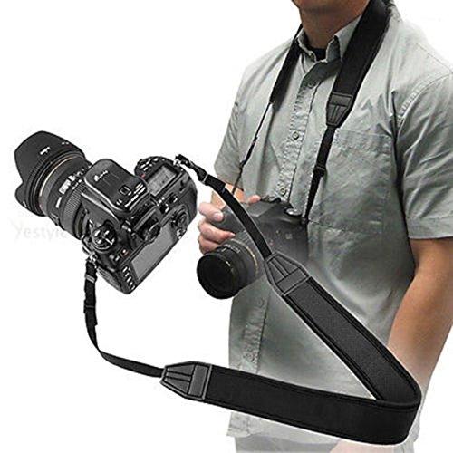 Fuhaoo Cinturón de hombro ajustable de neopreno para cámara réflex ...