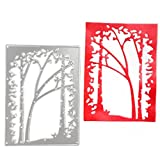 #7: Lady Time Clearance!!Tree Metal Cutting Dies Stencil Scrapbooking Photo Paper Cards Crafts Embossing DIY