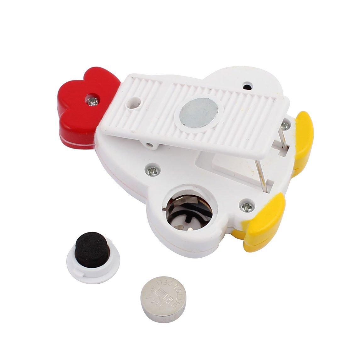 Amazon.com: Temporizador de cocina eDealMax LCD digital de dígitos grandes fuerte alarma magnética capa blanca: Kitchen & Dining