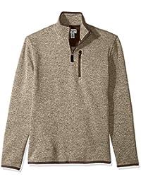 Men's Quarter Zip Sweater Fleece