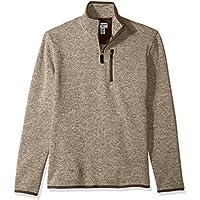 Dockers Men's Quarter Zip Sweater Fleece
