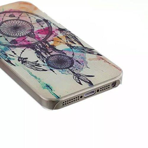 For iPhone 4 4S Design Mignon dur Matte Case PC, Yaobai Cover Case Mode Impression dure de PC Matte Retour Effacer protection Slim Ultra Perfect Fit Case pour Apple iPhone 4 4S
