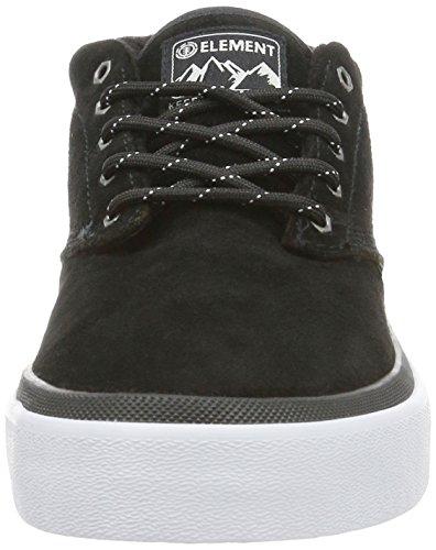 Element Herren Preston Sneakers Low-Top Schwarz (19 Black)