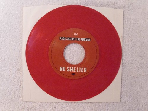 Rage Against The Machine No Shelter RED VINYL (Audioslave Rage Against The Machine)