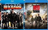 Red Dawn Double Feature - Patrick Swayze 1984 + Chris Hemsworth 2012 Blu Ray 2 Pack War Movie Action Set