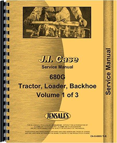 Case 680G Tractor Loader Backhoe Service Manual PDF