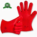 OxStraps Heat Resistant Silicone Gloves for Grilling BBQ - Best Reviews Guide