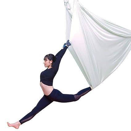Yoga Hamaca De Meditación Aérea De 5 M - Columpio Elástico ...