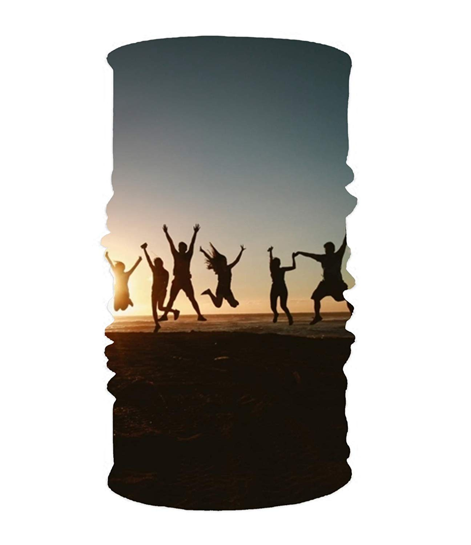 No Soy Como Tu Balaclava Headband Adventure Beach Coastline Headwear Sport Sweatband Yoga Head Wrap for Men Women