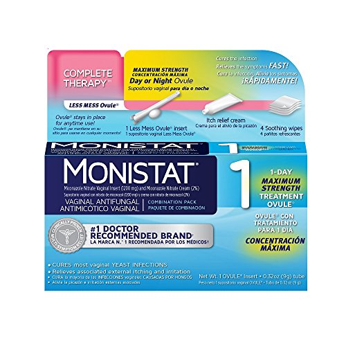 Monistat Combination 1 Ovule Applicator External