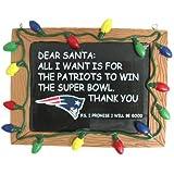 NFL Football Resin Chalkboard Sign Holiday Christmas Ornament - Pick Team