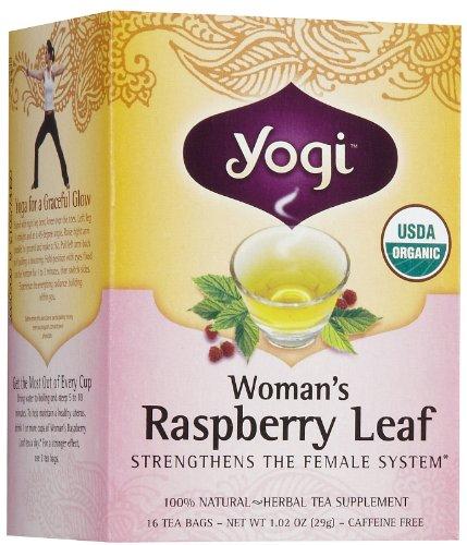 Yogi Tea Woman'S Raspberry Leaf, Herbal Supplement, Tea Bags, 16 ct