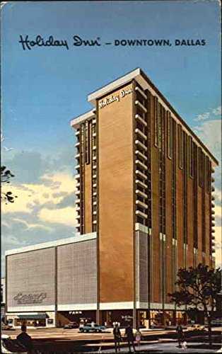 Holiday Inn Downtown Dallas, Texas Original Vintage Postcard from CardCow Vintage Postcards