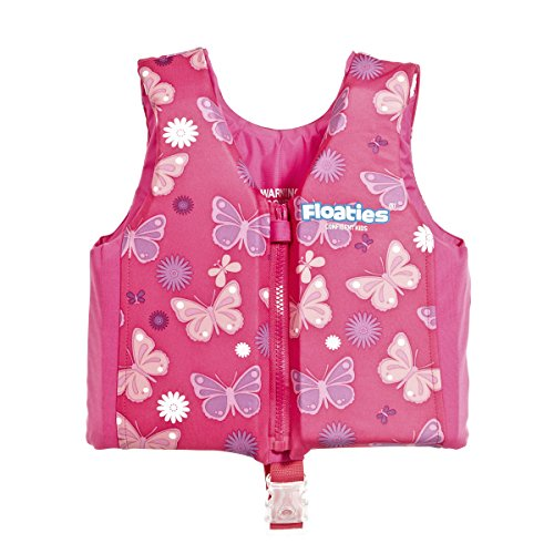 Kids Swim Vest Pool Floats Swimming Floatation Vest For Toddlers Kids By Floaties Pink