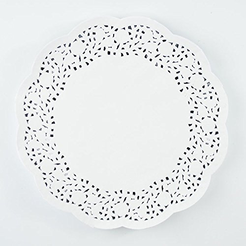 BestBlue Paper Lace Doilies 10.5 Inch Set of 270