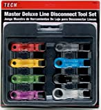Performance Tool W89338 8-Piece Master Line Disconnect Tool Set