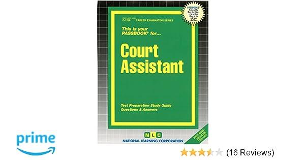 court assistant passbooks c1226 jack rudman 9780837312262 rh amazon com Post Office Exam Scores Post Office Exam Book 2013