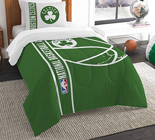 The Northwest Company Officially Licensed NBA Boston Celtics Reverse Slam Twin Comforter and - Comforter Boston