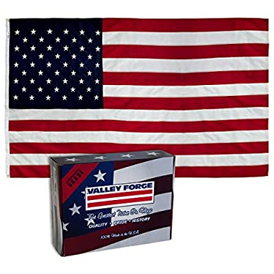 American Flag 3 ft x 5 ft US Nylon Embroidered Stars/Sewn Stripes USPN1