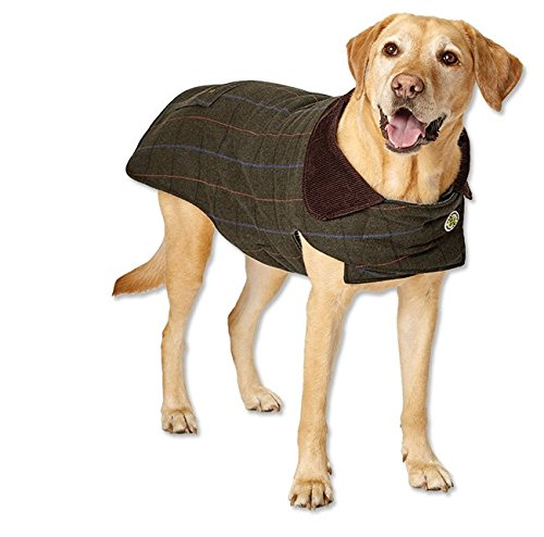 - Orvis Tweed Dog Jacket, Olive, 18