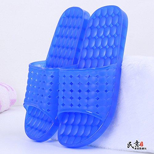 Antideslizante Transparente Amantes Ahuecar Zapatos Verano Zapatillas C baño de Sandalias YMFIE Piscina Color R50pHI
