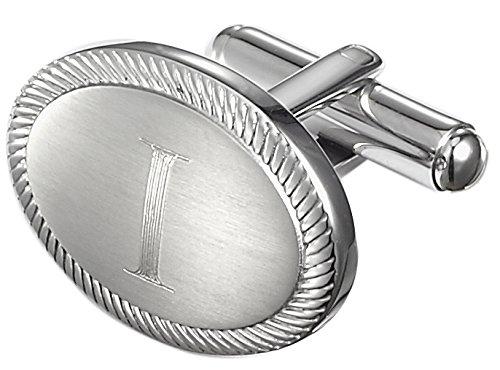 Visol+Ovale+Stainless+Steel+Cufflinks