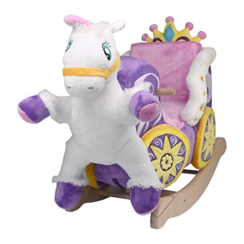 Rockabye Princess Carriage Rocker by Rockabye