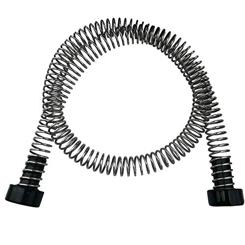 CARAPEAK Heavy Duty Stainless Steel Zipline Spring Brake Extra Long 6.3 FT Fits Cable up to 1/2