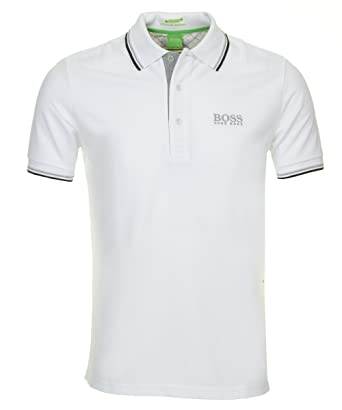Men's Paddy Pro Hugo Boss Polo Shirt, White, X-Large