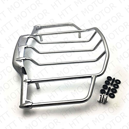 Rack Chrome Trunk - Chrome Luggage Rack Trail For Harley Air Wing Tour Pak Trunk Pack 1993-2013 Harley Electra Street Glide