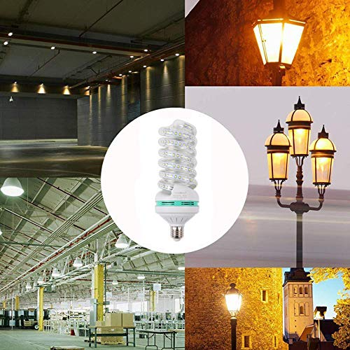 RONSHIN LED Bright Energy Saving Spiral Corn Bulb 85-265V E27 White Light 24W