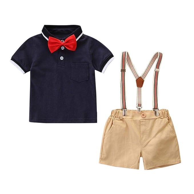 Amazon.com: Gentleman Ropa para Bebé HANANei Niños Bebé ...