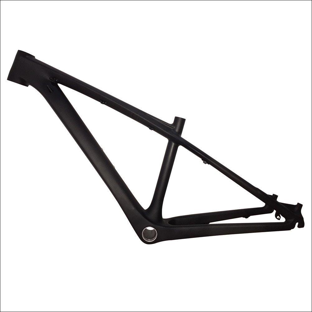 Fasteam 26er 16 '' 3K Matte Full Carbon Bicycle Frame MTB Frame with Bottom Bracket and Headset