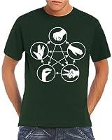 Touchlines Men's T-Shirt Big Bang Theory Rock Paper Scissors Lizard Spock