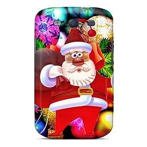 New Cute Funny Santa Claus Case Cover/ Galaxy S3 Case Cover