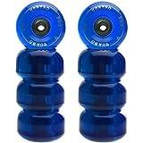 Ventro Pro Turbo - Ruedas monopatín con rodamientos (62 mm) azul azul