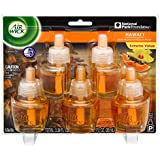 Air Wick Scented Oil 5 Refills, Hawaii Exotic Papaya/Hibiscus Flower, 1.13 Pound