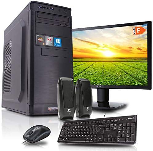 Read more about the article dcl24.de [11828] Office Komplett PC Set Intel i9-9900 8×3.1 GHz – 32GB DDR4, 480GB SSD & 2TB HDD, Intel UHD Grafik 630 1GB, 21,5 Zoll TFT, Maus Tastatur, Windows 10 Pro Büro Computer Desktop Rechner