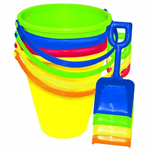 Nice Amscan Fun Filled Summer Pail and Shovel 9 Inches - 1 Bucket